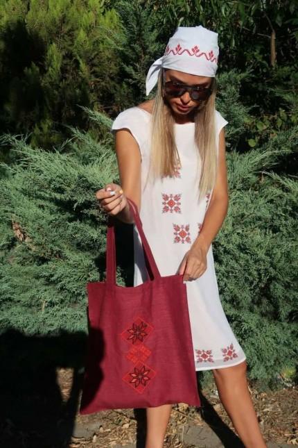 Дамска чанта с шевици DANIELA