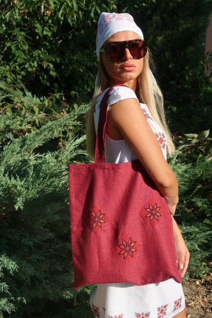 Елегантна дамска чанта с шевици RUJA