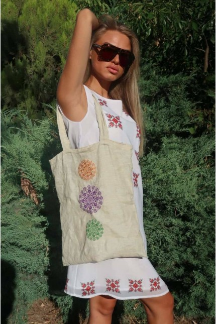 Дамска чанта с шевица VIKI