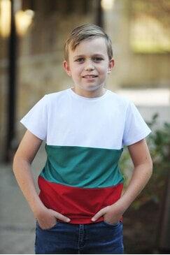Стилна тениска BULGARIA