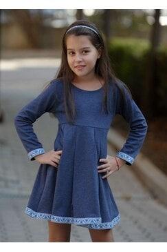 Детска рокля KOKETNA NAVY KIDS