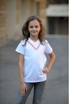Стилна детска блуза с шевица EVA KIDS