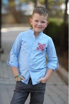 Стилна детска риза ALEX KIDS