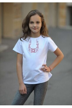 Елегантна тениска с шевица RUMI KIDS