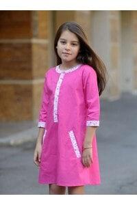Детска рокля SHEVICA PINK KIDS