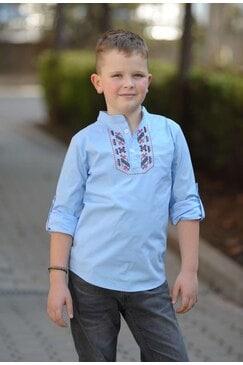 Елегантна детска риза с шевица KALOYAN