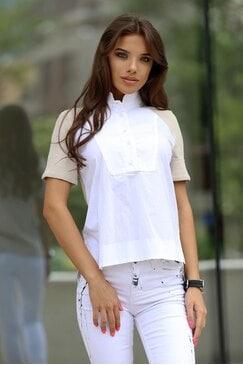 Стилна дамска блуза SALZA
