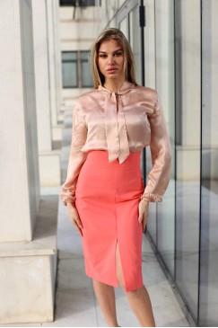 Елегантна дамска блуза PUDRA