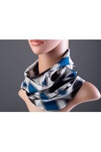 Стилен дамски шал с принт NERA