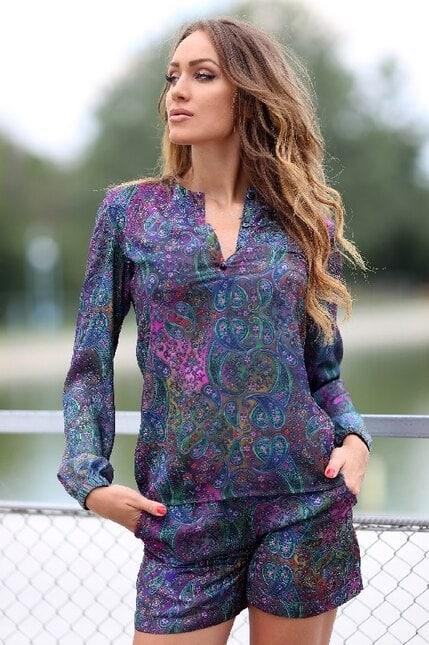 Елегантна дамска блуза DESIGN