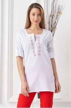 Дамска блуза с шевица RADA WHITE