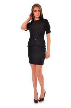Елегантна черна блуза