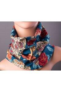 Принтиран дамски шал ROZA