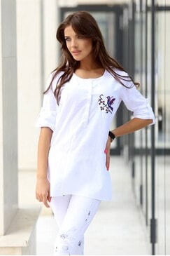 Елегантна дамска блуза YANICA