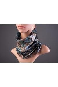 Елегантен женски шал с принт MARTA