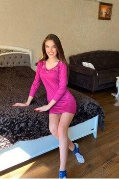 Ежедневна дамска спортна рокля PINKSTAR