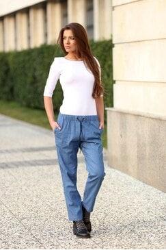 Спортно-елегантен панталон DENIM