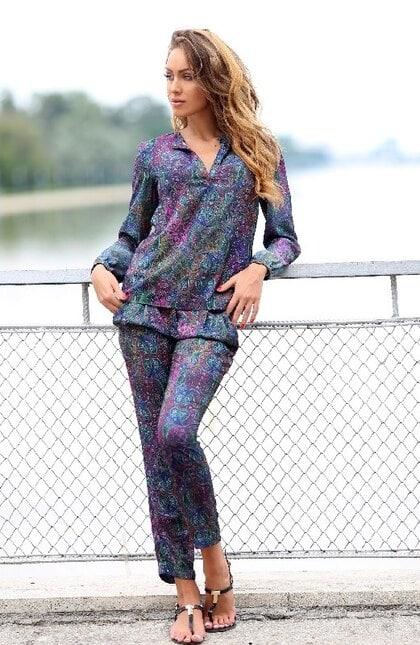 Елегантен дамски панталон DESIGN