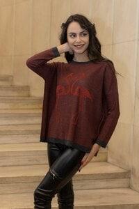 Дамска плетена блуза RED PELICAN