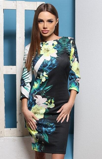 Дизайнерска рокля ЦВЕТЯ