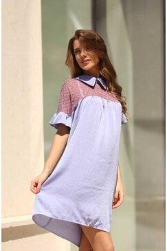 Стилна дамска рокля ESENA