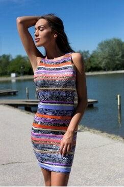 Стилна ежедневна рокля DERINA