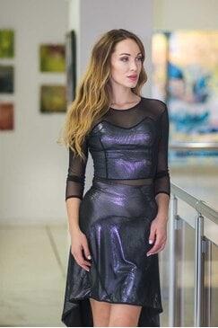 ОФициална рокля с дантела STILINI