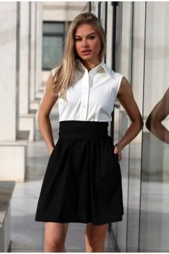 Ежедневна дамска рокля SCALA BLACK