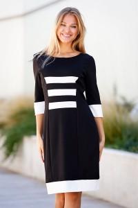 Ежедневна есенна рокля BELLA DRESS BLK