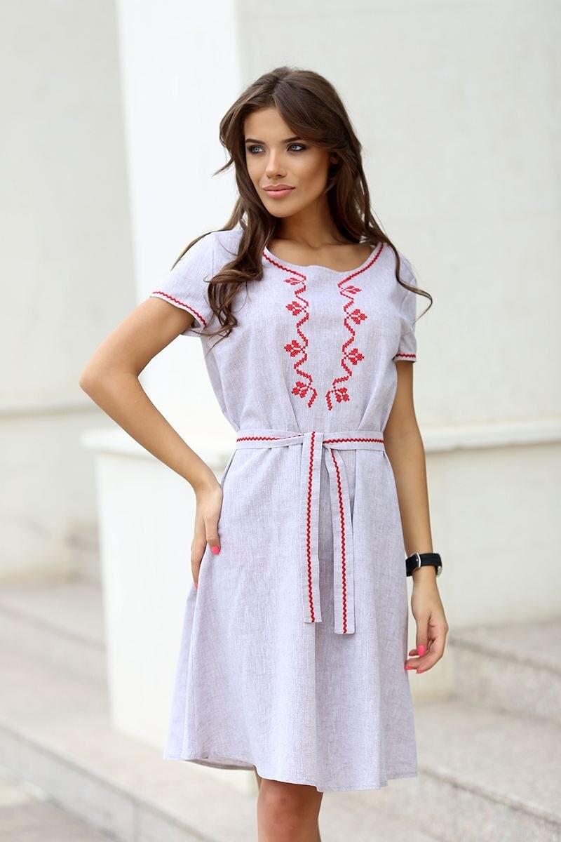 ce2cd7a0a14 Стилна дамска рокля RADA • Подиум • Дамска мода онлайн