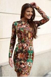 Стилна рокля DIAMOND