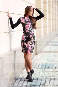 Стилна рокля SENORITA