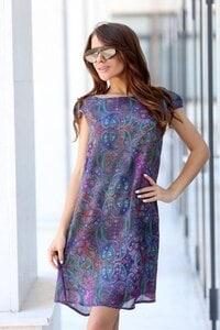 Дамска лятна рокля с принт MONAKO