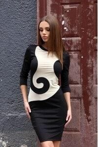 Елегантна черна рокля ZARA