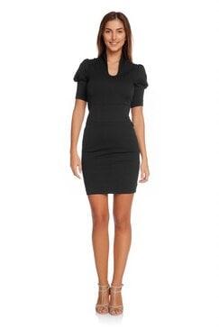Черна рокля RAVENNA
