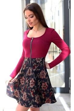 Ежедневна дамска рокля MARAYA RED