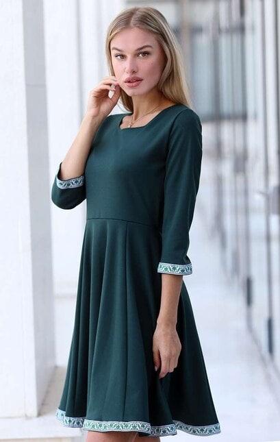 Дамска зелена рокля KOKETNA OLIVE