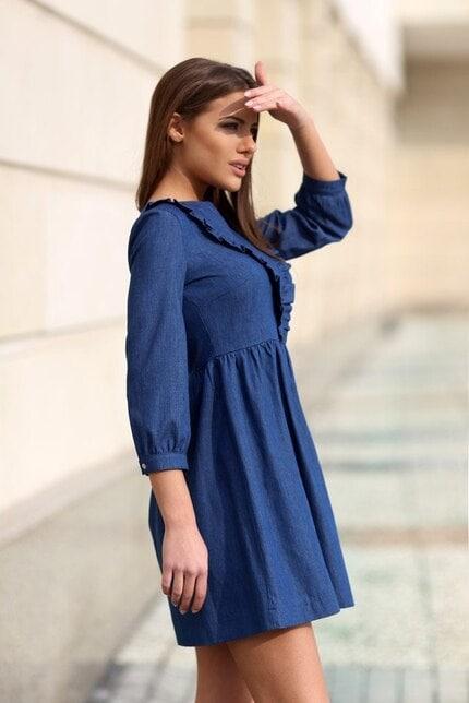 Елегантна рокля DENIM