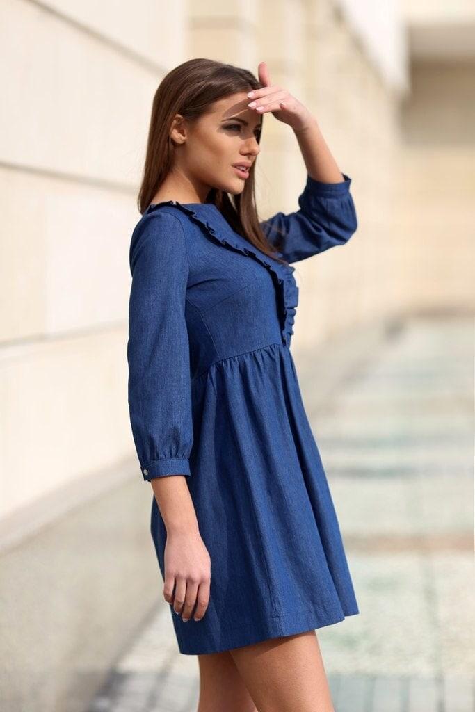 cdab81be9a7 Елегантна рокля DENIM • Подиум • Дамска мода онлайн
