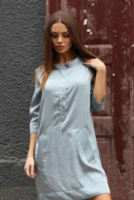 Ефектна рокля - риза MIA