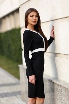 Стилна рокля BLACK PEARL