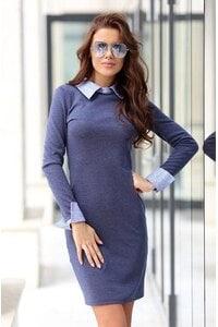 Стилна рокля ARTERY DENIM