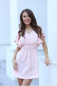 Лятна дамска разкроена рокля SUNNY DREAM