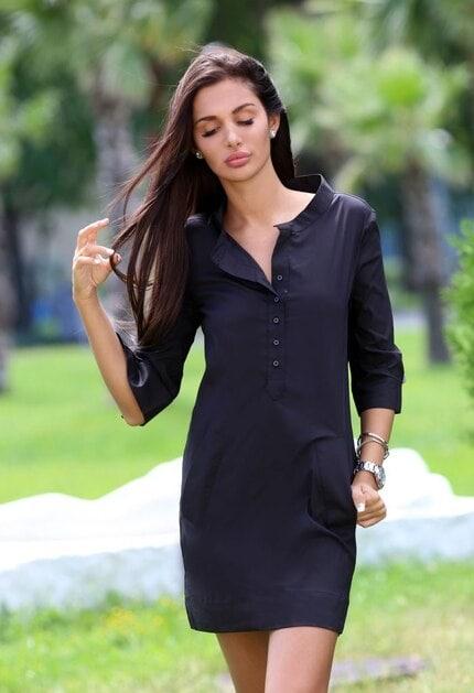Стилна рокля BLACK DIAMOND