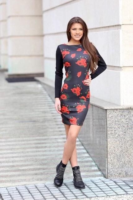 Стилна рокля KARMEN