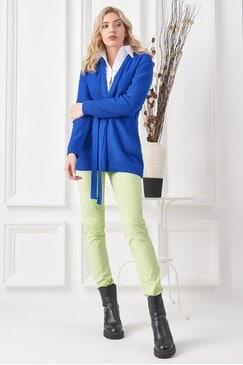 Стилен зелен спортен панталон NATALIE