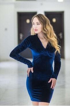 Официална рокля LADY BLUE