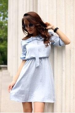 Лятна рокля с панделка KAYRA