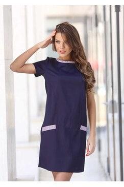 Синя елегантна рокля ADA