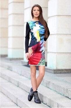 Стилна рокля STELIYANA